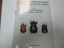 Entomologie Bibliographie Les coléoptères du monde Dynastidae americains  ; V 14