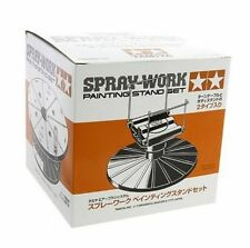 Tamiya spray-work painting stand set Plastic Model Kit-Assembly Required