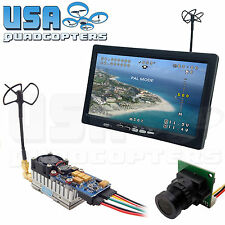 5.8GHz FPV System Camera, Monitor, 1000mW 1W Video Transmitter Quadcopter Drone