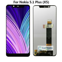 For Nokia 5.1 Plus (X5) LCD Display Touch Screen Assembly Digitizer Replace BT02