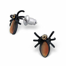 halloween spider stud Earrings cute kitsch children boxed