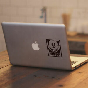 """Disney Mickey Mouse Obey Vinyl Decal for Apple Macbook Air Macbook Pro 13.3"""" 15"""""""
