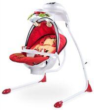Transat Balancelle Bébé électrique Caretero Bugies Red