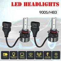 2x 15000LM 100W 9005/HB3 LED Auto Scheinwerfer Headlight Umbausatz Lampe 6000K