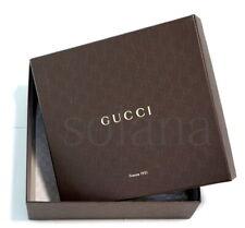 GUCCI Large Empty GG Logo Shoe Box for PUMP Wedge Platform Sandals Authentic