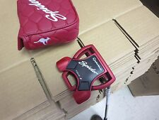 TAYLORMADE SPIDER TOUR ALL RED PUTTER SMOKE SHAFT 35""