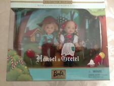 "BARBIE COLLECTIBLES HANSEL & GRETEL 4½"" DOLL SET 2000"