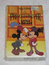 Disney The Prince and the Pauper Little Library (1991, Hardcover) Walter Elias