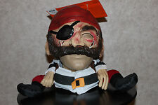 FUNNY PIRATE MASK Adult Men Halloween Costume Buccaneer Women Disguise Silly NEW