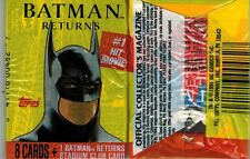 BATMAN RETURNS MOVIE CARDS UNOPENED PACK FROM BOX
