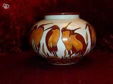 Emaux de Louvière Vase  en porcelaine  neuf avec sa boite