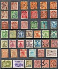 CHINA Stamp Collection c1890s-c1910s POSTMARK Interest REF:QT387a