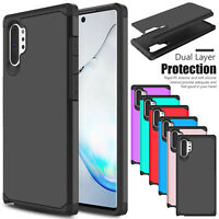 For Samsung Galaxy Note 10 Plus 5G Case Shockproof Armor Rugged Slim Phone Cover