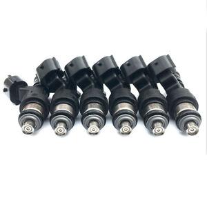 Fuel Injectors 80lbs for 2003-2008 Infiniti G35 3.5L V6 Turbo 550cc High OHMS *6