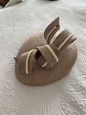 Whitely England Pillbox Straw Hat Duchess Of Cambridge