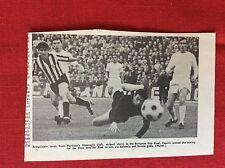 m2M ephemera 1966 football picture araquistain partizan hasanagic vasovic