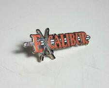 "Vintage Excalibur Comic Book Metal 1.25"" Cloisonne  Pin- FREE S&H (MCPI-EX)"