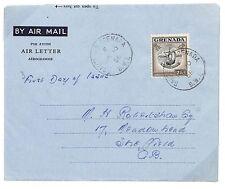 U70 1956 *GRENADA* Air Letter {samwells-covers}PTS
