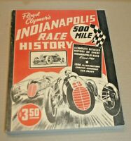 1946 CLYMER INDIANAPOLIS 500 RACE HISTORY BEGINNING OF ANNUAL INDY 500 YEARBOOKS