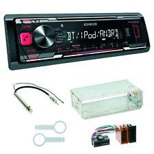 Kenwood KMM-BT203 Autoradio Bluetooth Einbauset für Golf 4 Passat 3B 3BG Polo 6N