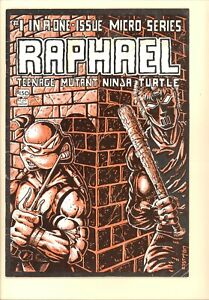 Raphael 1 VG 1st Print 1st Casey Jones Teenage Mutant Ninja Turtles Turtles