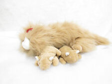 VTG COMMONWEALTH MEOWING KITTENS AND MOM STUFFED PLUSH CAT SOUND