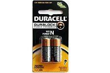 2 x N Duracell 1.5V Alkaline Batteries ( Medical, LR1, E90, MN9100 )