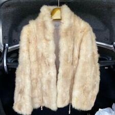 Kirschner Furs Women's vintage opossum fur coat