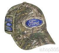 Ford Logo Realtree Xtra Camouflage Hat Hunting Outdoor Cap Baseball Cap