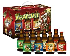 Festretter Weihnachten 8er Bier Box Pils Geschenk für Freund Mann Opa zum Fest