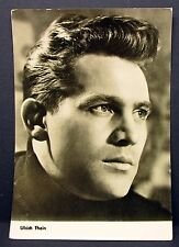 Ulrich Thein -  Movie Actor Photo Film - Autogramm-Karte AK ( Lot-Z138)