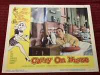 Carry On Nurse Original Movie Lobby Card 1960 60/98 11x14