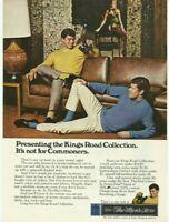 1968 Print Ad Sears Kings Road The Men's Store Vintage Advertisement 60's