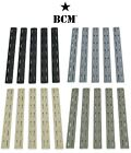 Bravo Company BCM Keymod Rail Cover-5 Pack- Black-Flat Dark-Foliage-Wolf Gray