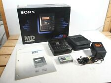 Sony MZ-1 Minidisc MD Walkman 1992, Boxed, Tested and WORKING, MINT, Very Rare