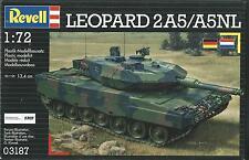 KIT REVELL 1:72 CARRO ARMATO DA MONTARE LEOPARD 2A5/A5NL  03187