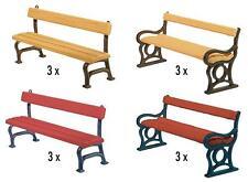 FALLER 180443 Gauge H0 12 Park benches #new original packaging##