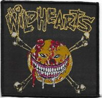 Official Licensed Merch Woven Sew-on PATCH Heavy Rock THE WILDHEARTS Smiley Face