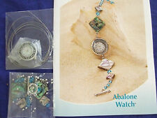 BEADS/FINDINGS  AND INSTRUCTIONS TO COMPLETE WATCH BRACELET JEWLERY MAKING WOW