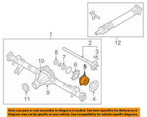 NISSAN OEM 05-18 Frontier Axle Differential-Rear-Bearing 43210EA200