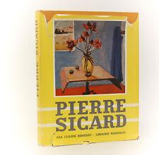Claude Remusat  'Pierre Sicard' Librairie Rombaldi, Paris, 1955. 1st Ed, Ltd Ed