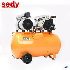 50L Air Compressor Oil Free Silenced Direct Motor Workshop Dentist Home Garage