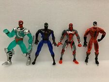 Spider-Man Classics Spiderman Spider Sense Tarantula Loose lot of 4 figures