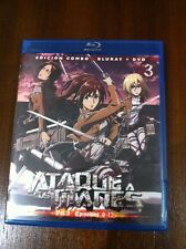 ATAQUE A LOS TITANES VOL 3 - CAPS 9 A 12 - EDICION COMBO BLURAY + DVD - 100 MIN