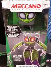 Meccano Tech Programmable ROBOT Micronoid Erector Build Interactive 8+ yrs