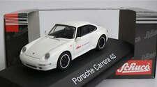 RARE SCHUCO PORSCHE 911 993 C4S 'WER BREMST' PROMO GLACIER WHITE 1:43 MINT 1/100