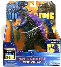 "Godzilla Vs. Kong Monsterverse Hong Kong Battle Godzilla 6"" Toy Collectible"