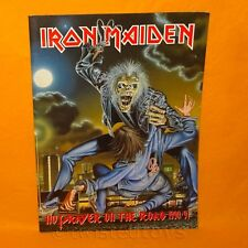 IRON MAIDEN NO PRAYER ON THE ROAD 1990/91 TOUR CONCERT PROGRAMME PROGRAM