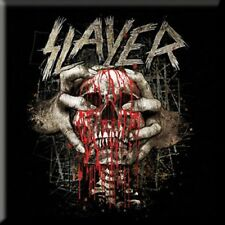 Slayer Official Skull Clench Metal Fridge Magnet Thrash Rock Band Locker