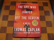 Thomas Caplan-The Spy Who Jumped Off The Screen-Signed-1st ed.-1st print-New
